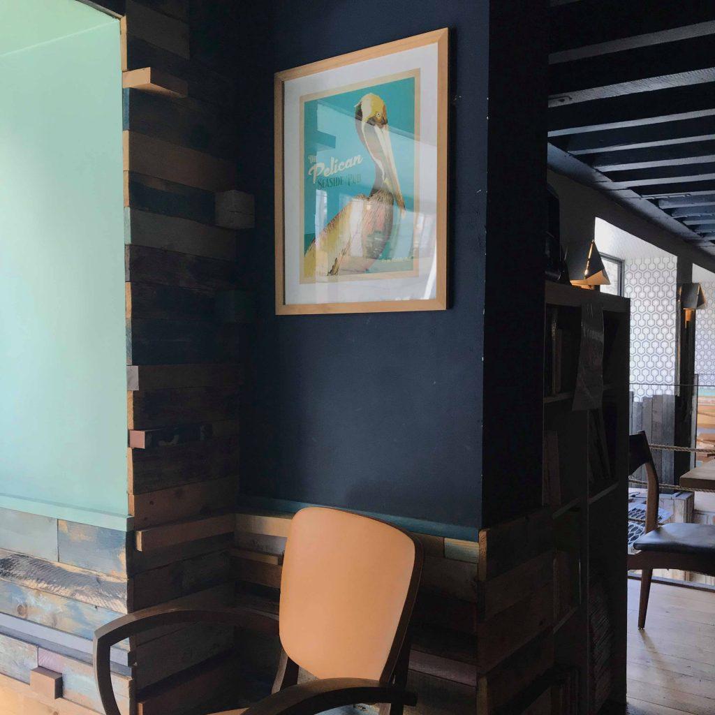 nos rendez-vous: photo showroom Amande C x Équilibre café à Lyon