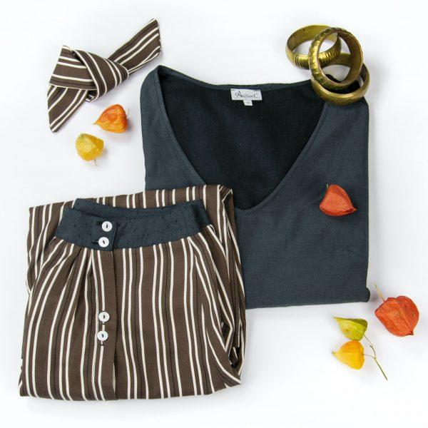 ensemble-plie-top-captivante-jupe-flaneuse-ruban-romantique