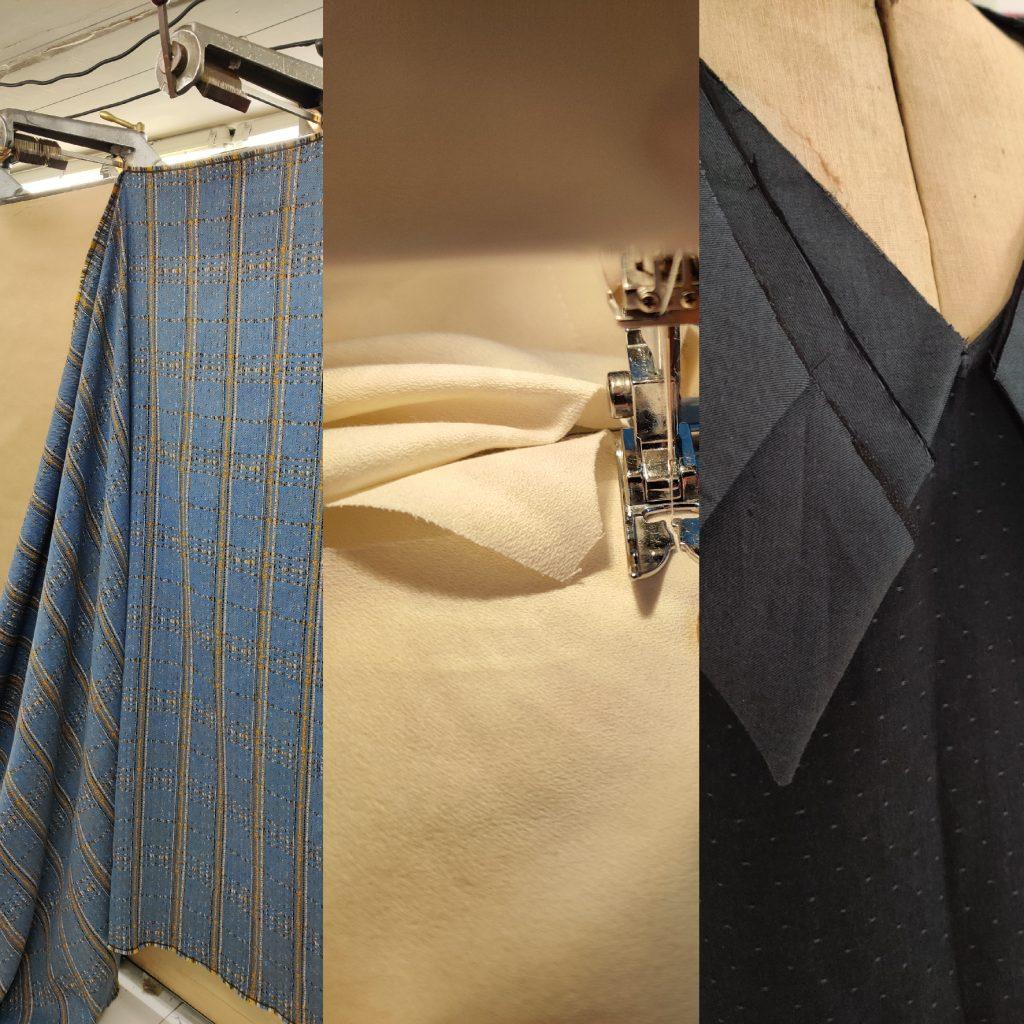Amande C - création d'un vêtement - départ pour la production