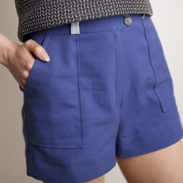 Amande C - short SONGEUSE zoom sans revers