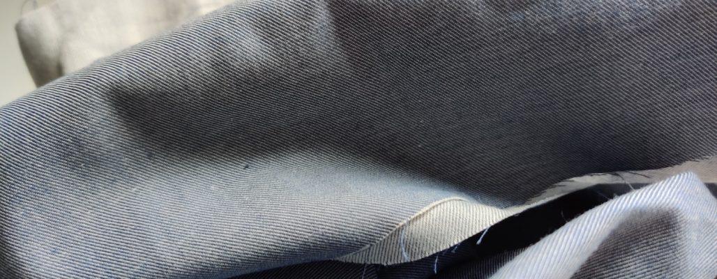 DIY pompon par Amande C - choix du tissu